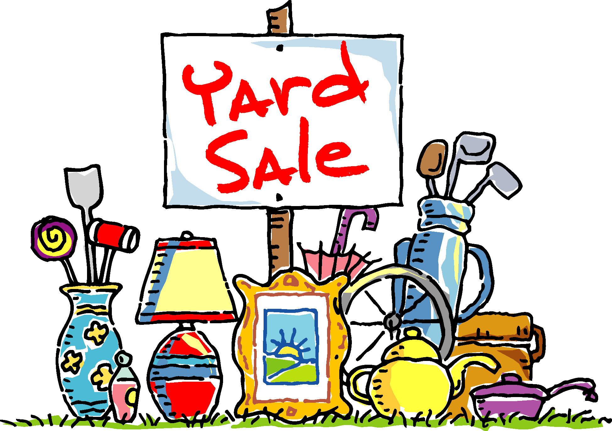 Yard Sale Fundraiser for Food Pantry Bunker Hill Lutheran